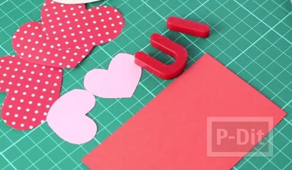 รูป 6 การ์ดป๊อปอัพสวยๆ ส่งรัก วันวาเลนไทน์