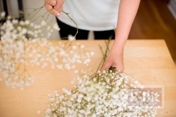 รูป 3 สอนตกแต่งช่อดอกไม้ ด้วยริบบิ้น