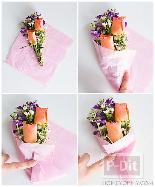 รูป 4 ช่อดอกกุหลาบสวยๆ แจกวันวาเลนไทน์