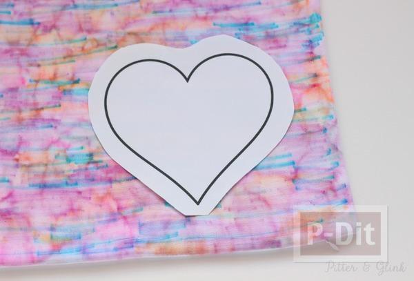 รูป 5 สอนทำหมอนอิงสวยๆ ประดับหัวใจดวงใหญ่ๆ