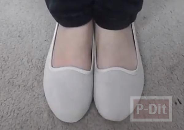 รูป 2 ตกแต่งรองเท้า ลายแพนด้า