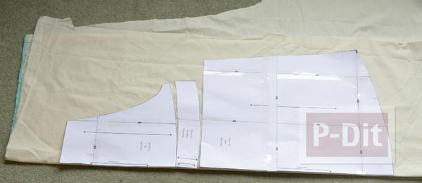 รูป 2 ผ้ากันเปื้อนทำจากถุงขนม