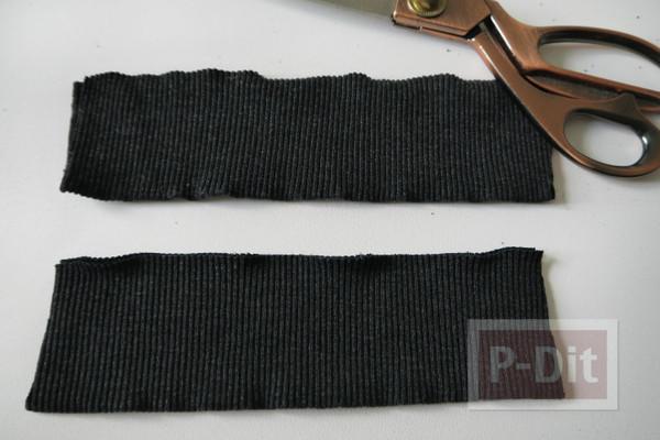 รูป 7 ถุงผ้า ทำจากเสื้อยืดเก่าๆ