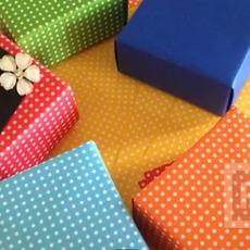 กล่องของขวัญเล็กๆ พับจากกระดาษ A4