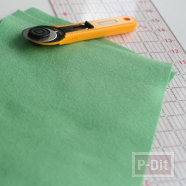 รูป 3 ถุงจ่ายตลาด เย็บเอง จากผ้าสีสวย