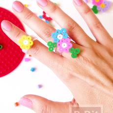 แหวนสวยๆ ทำลายจากเม็ดบีทรีดร้อน