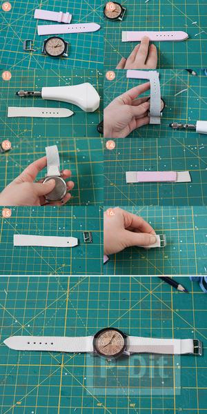รูป 2 สอนทำนาฬิกาสวยๆ ประดับข้อมือ