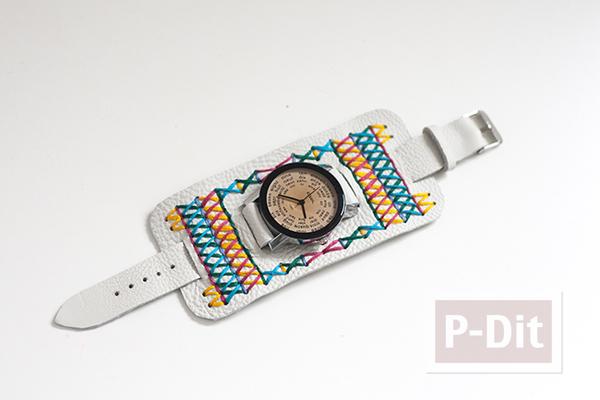 รูป 3 สอนทำนาฬิกาสวยๆ ประดับข้อมือ