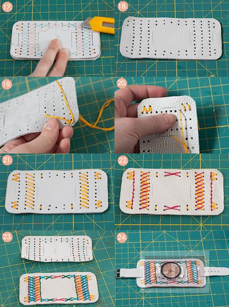 รูป 5 สอนทำนาฬิกาสวยๆ ประดับข้อมือ