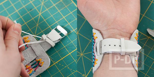รูป 6 สอนทำนาฬิกาสวยๆ ประดับข้อมือ