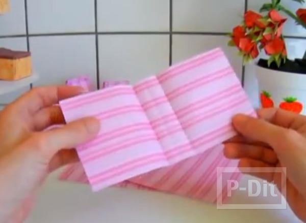 รูป 5 พับถุงกระดาษ ใบเล็กๆ