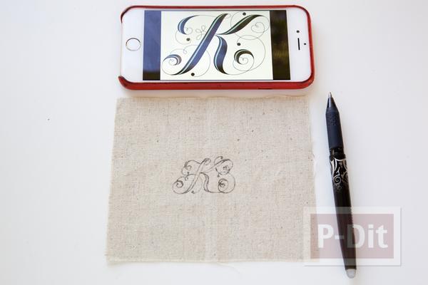 รูป 2 พวงกุญแจ ทำจากผ้า ลายสวย