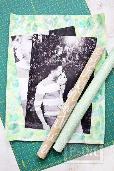 รูป 3 กรอบรูปติดผนังสวย ตกแต่งจากกระดาษระบายสีสวย