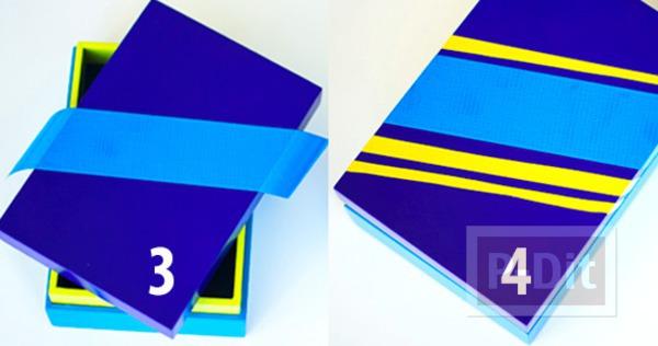 รูป 7 ตกแต่งกล่องกระดาษสวยๆ เป็นของขวัญเก๋ๆ