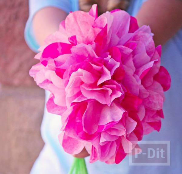 รูป 2 ดอกไม้คัพเค้ก สีสวย สดใส