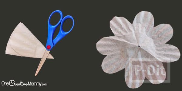 รูป 5 ดอกไม้คัพเค้ก สีสวย สดใส