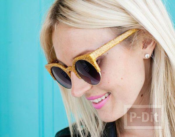 แว่นตาสีสวย ประดับกาาเพชร