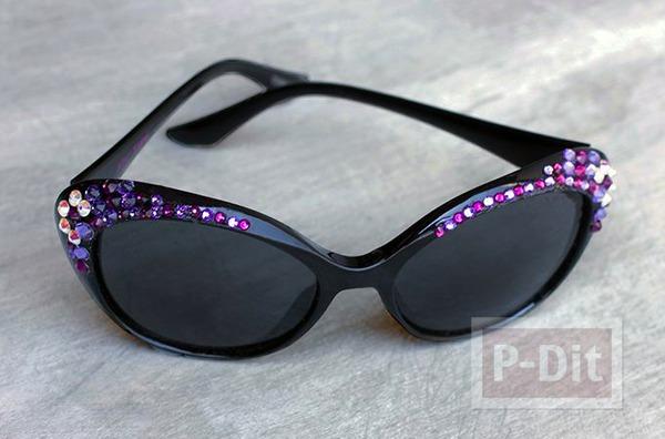 ไอเดียตกแต่งขอบแว่นตาสวยๆ ด้วยเม็ดคริสตัลเล็กๆ