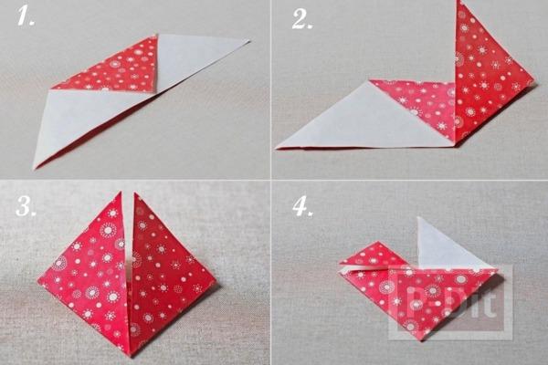 รูป 2 สอนทำที่ใช้อมยิ้ม รูปหัวใจกระดาษ