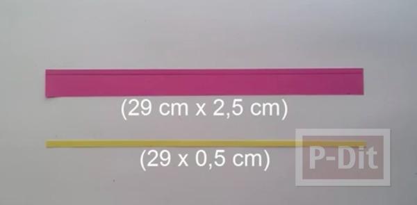 รูป 3 ดอกไม้กระดาษ ทำเอง สีสวย