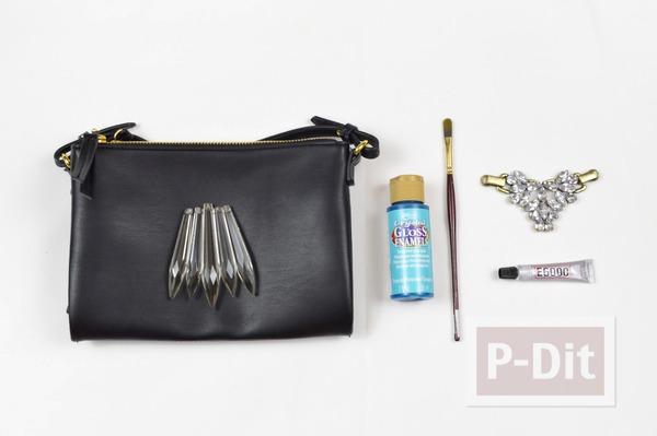 รูป 2 กระเป๋าถือ ตกแต่งลายสวย
