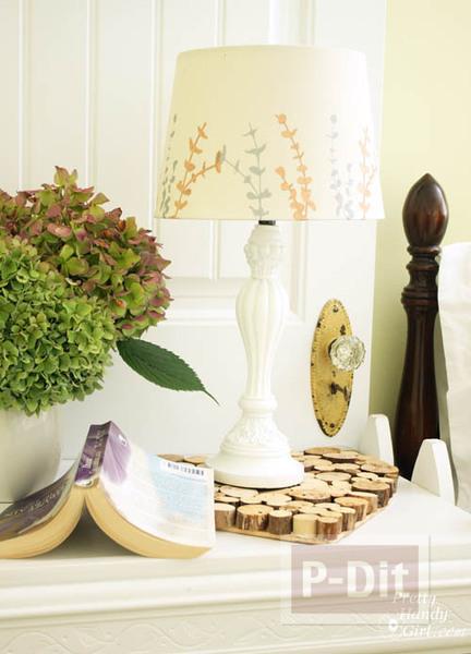 รูป 5 เปลี่ยนสีโคมไฟ ให้มีสีสัน สวยงาม