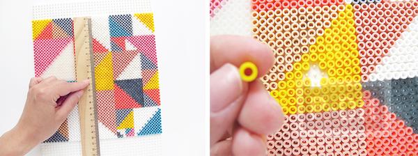 รูป 4 นาฬิกาติดผนัง ทำจากเม็ดบีท รีดร้อน