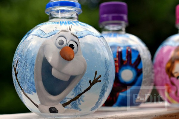รูป 2 บอลลูนน่ารักๆ ทำจากขวดน้ำ