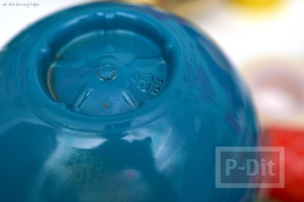 รูป 4 บอลลูนน่ารักๆ ทำจากขวดน้ำ