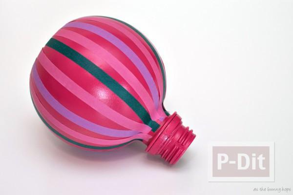 รูป 6 บอลลูนน่ารักๆ ทำจากขวดน้ำ