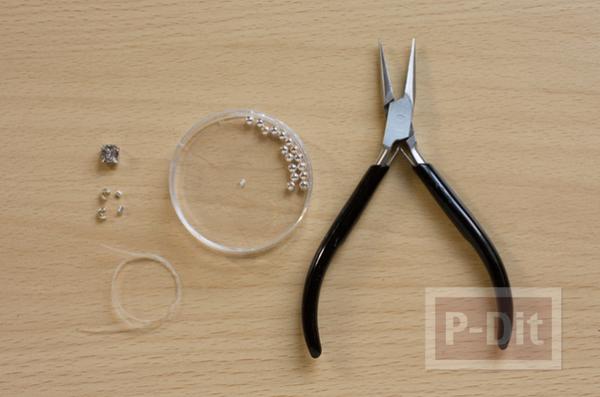 รูป 2 สอนทำแหวนสวยๆ จากเม็ดพลาสติก