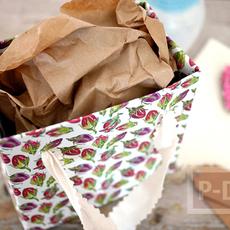 ถุงของขวัญ ทำจากกระดาษ ลายสวย