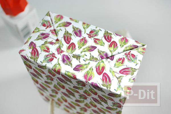 รูป 6 ถุงของขวัญ ทำจากกระดาษ ลายสวย