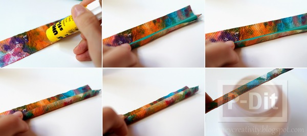 รูป 5 ตกแต่งห่อกระดาษสีสวย หุ้มดินสอไม้