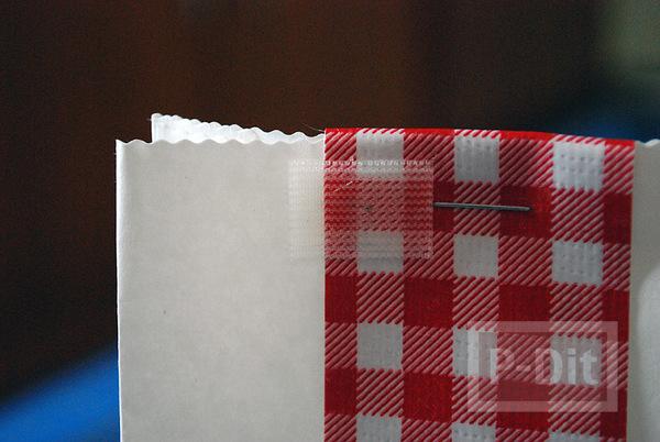 รูป 5 ถุงของขวัญ ตกแต่ง ลายสก็อตสวยๆ