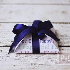 ห่อกล่องของขวัญสวยๆ ทำจากกระดาษวงกลม