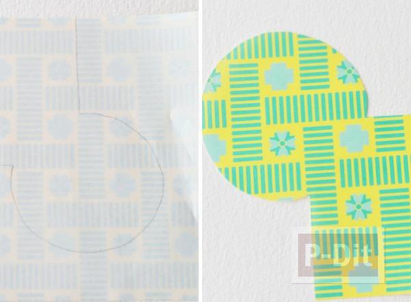 รูป 4 พับผีเสื้อ จากกระดาษสีสวย