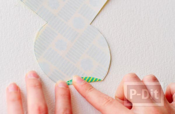 รูป 5 พับผีเสื้อ จากกระดาษสีสวย
