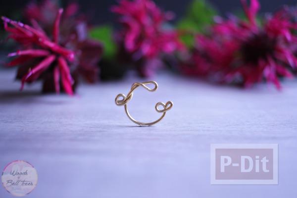รูป 1 ดัดแหวนจากลวด สวยๆ
