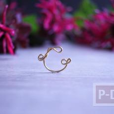 ดัดแหวนจากลวด สวยๆ