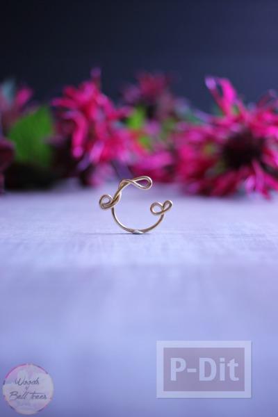 รูป 2 ดัดแหวนจากลวด สวยๆ