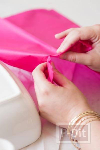 รูป 7 ชามใส่ผลไม้ ติดลายสวย กระดาษว่าวสีสด