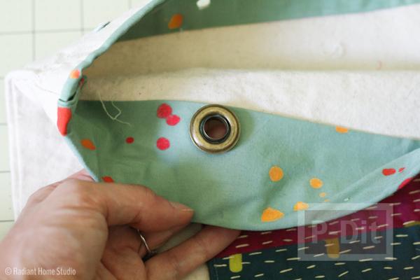 รูป 4 ถุงผ้าเก่าๆ นำมาตกแต่ง ทำลายใหม่สวยๆ