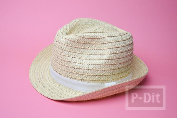 รูป 2 ตกแต่งลายหมวกน่ารักๆ ระบายสีเมจิก
