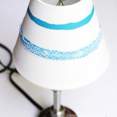 โคมไฟสวยๆ ตกแต่งประดับริบบิ้น