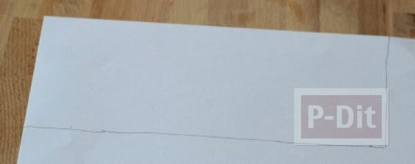 รูป 5 ทำที่ใส่ดินสอสวยๆ จากกระป๋อง ประดับกระดาษ