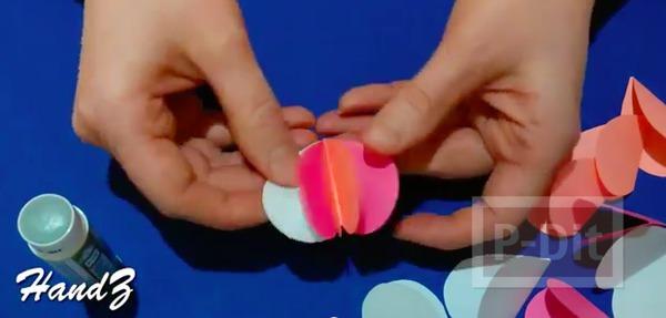 รูป 5 การ์ดป็อพอัพรูปหัวใจ ส่งความรัก วันแม่