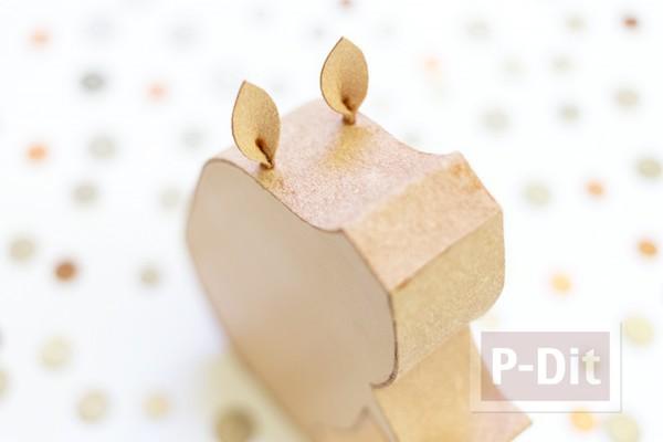 รูป 7 สอนทำกระปุกออมสิน จากกระดาษ