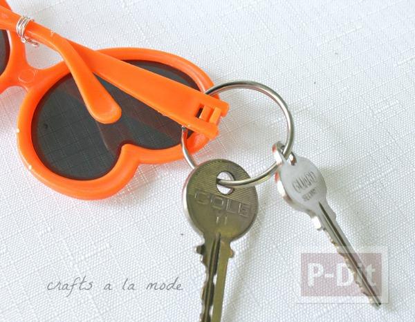 รูป 3 พวงกุญแจ ประดับแว่นกันแดด ของเล่น น่ารักๆ