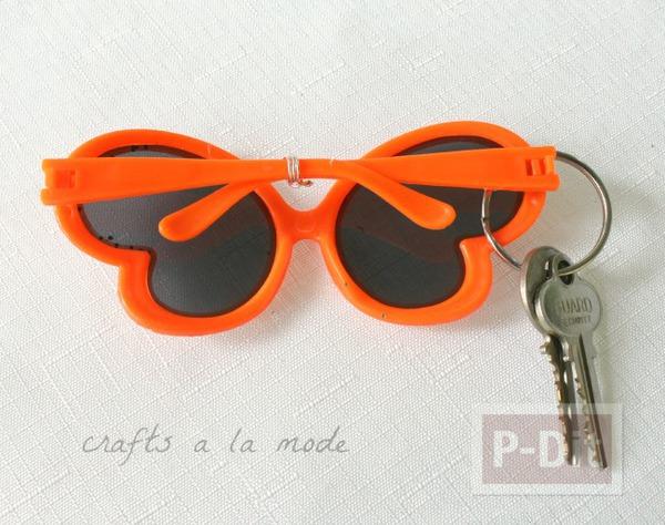 รูป 4 พวงกุญแจ ประดับแว่นกันแดด ของเล่น น่ารักๆ